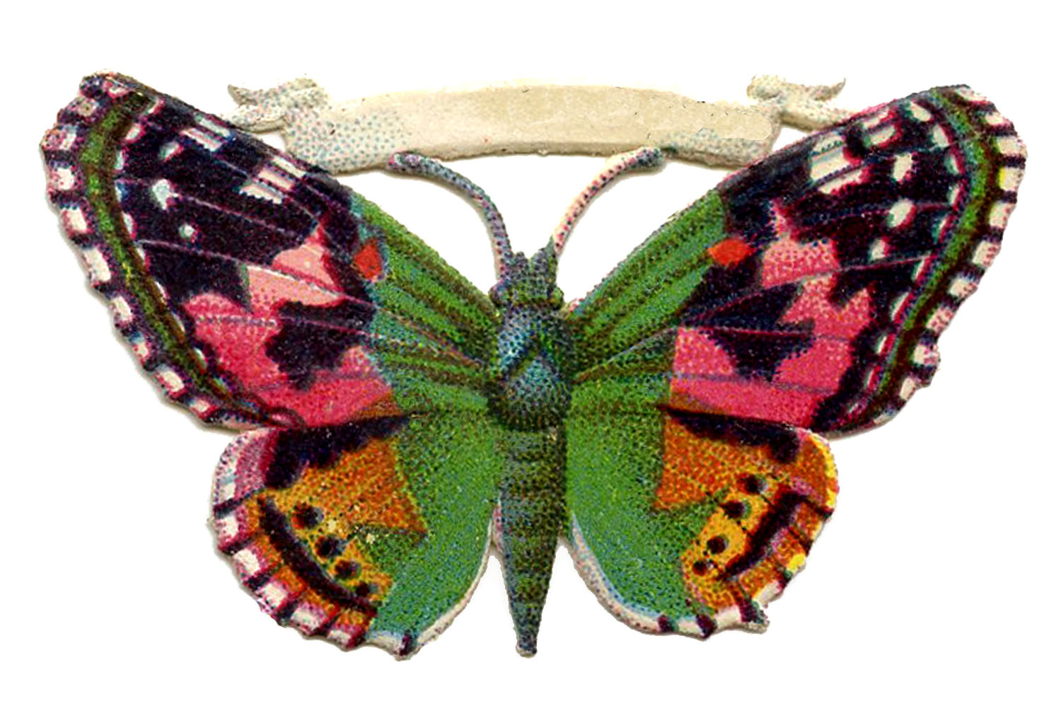 Free Vintage Butterfly