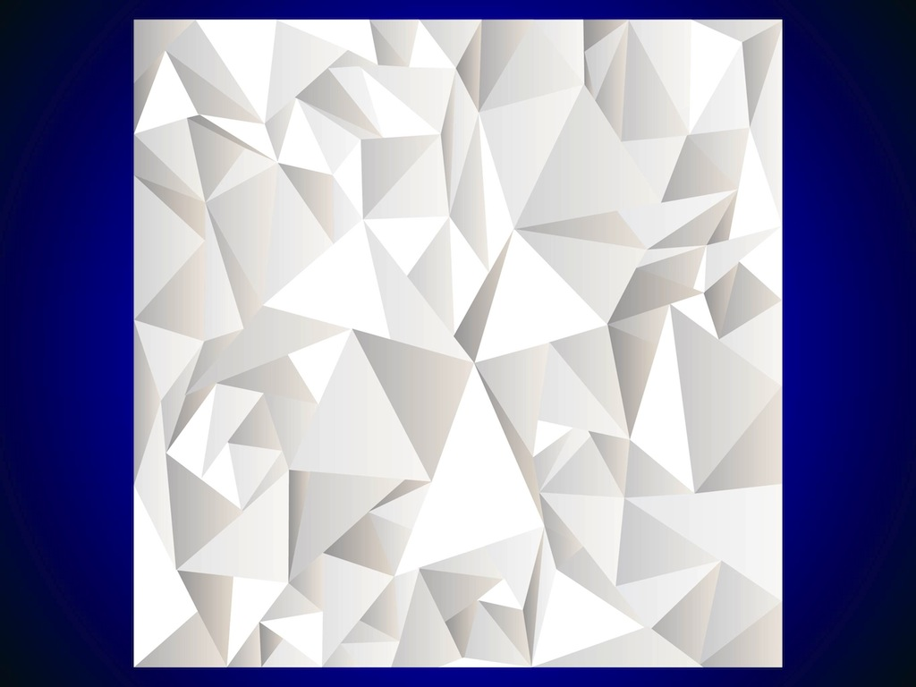 6 Abstract Vector Polygon Images