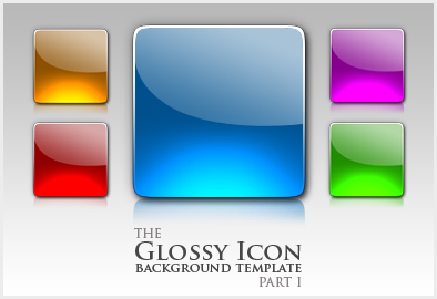 9 Glossy PSD App Icon Images