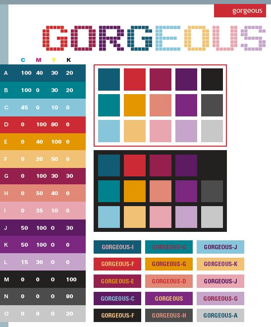 Graphic Design Color Schemes