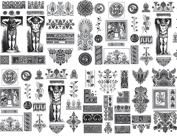 Greek Patterns and Designs