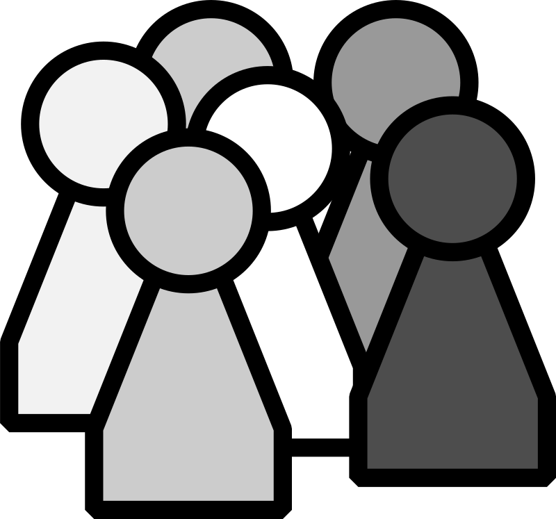 13 Small Group Of People Icon Images