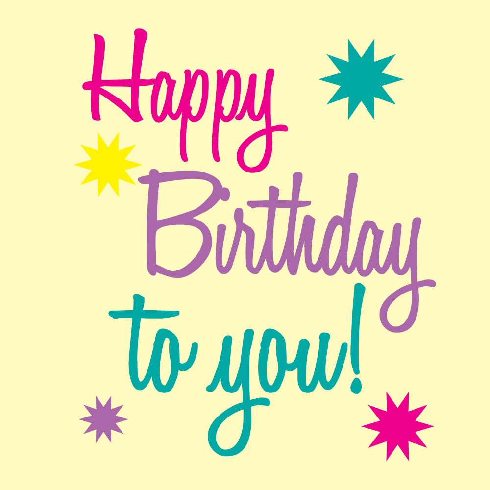 16 Happy Birthday Graphics Free Images