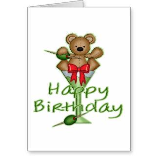Happy Birthday Margarita Glass
