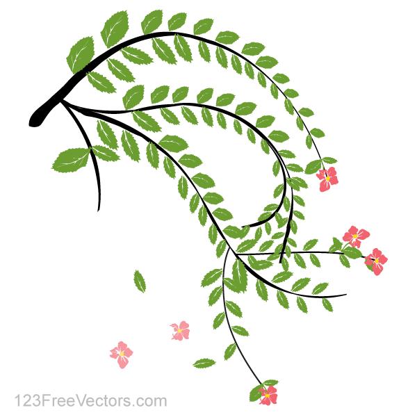 Hibiscus Flower Vector Art