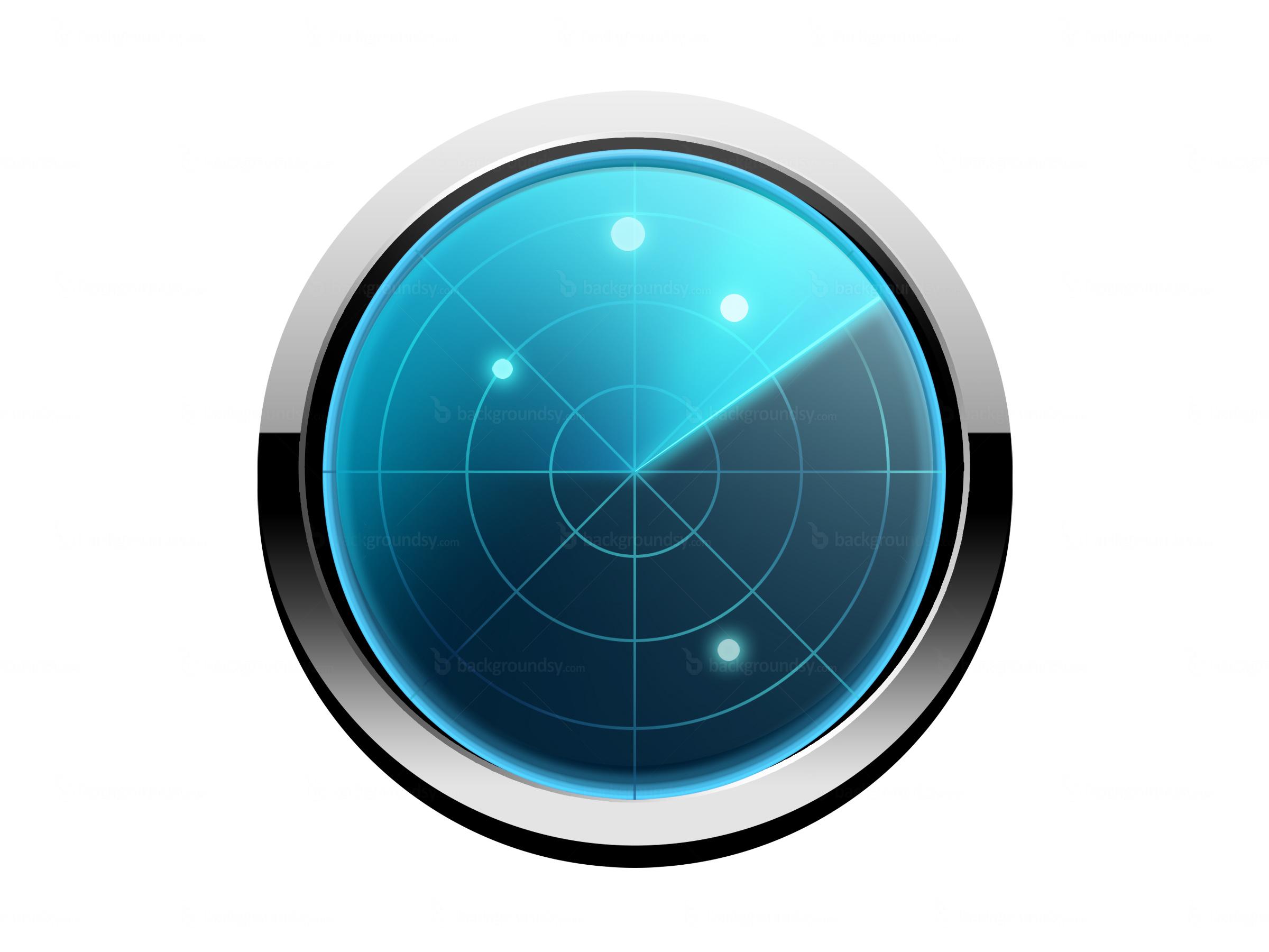 Icon Radar Screen
