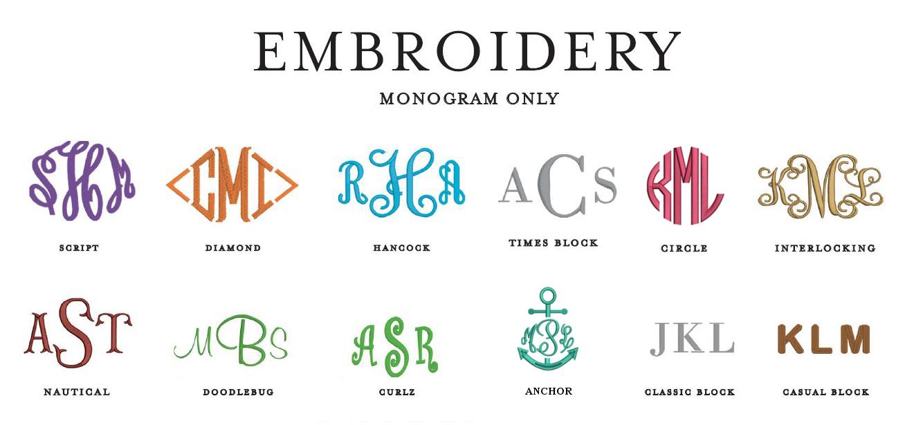 Infinity Monogram Font