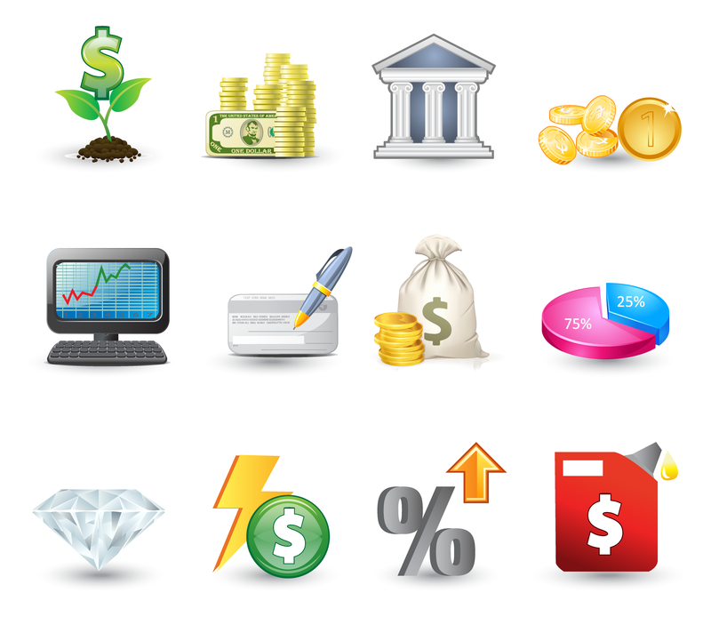 Investment Icon Vector Free