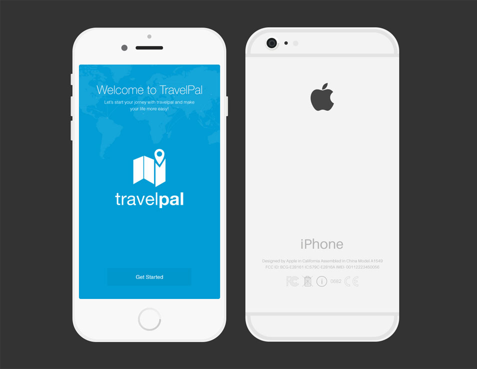 10 IPhone 6 PSD Template Images