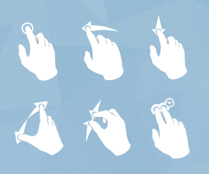 Iphone-Gesture-Icons