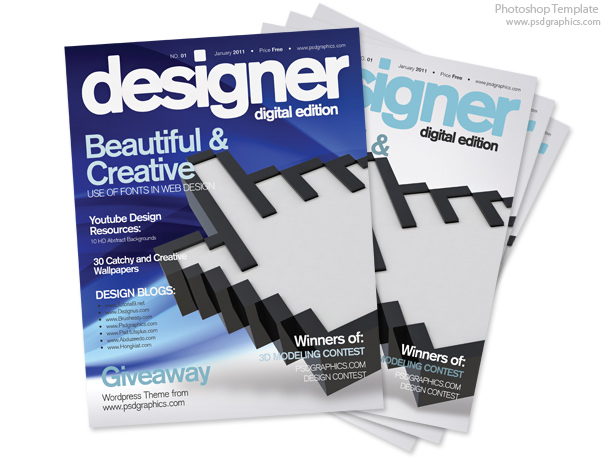 Magazine Cover Design Templates