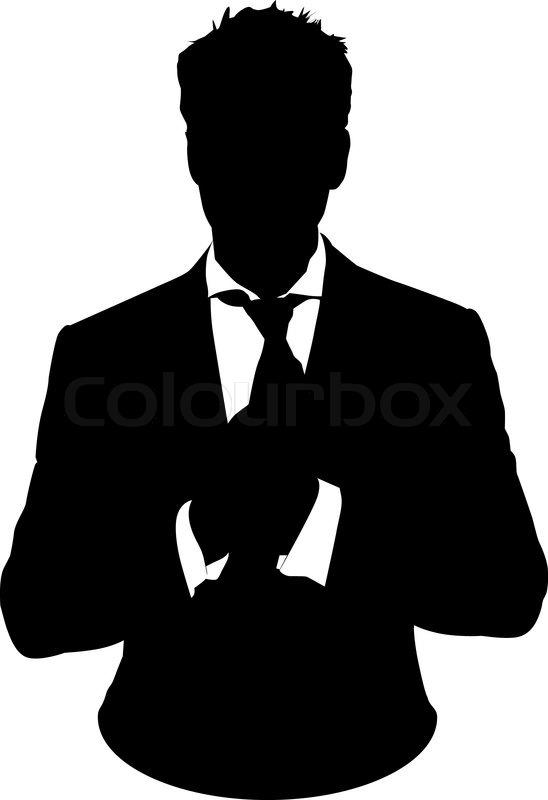 Man Business Suit Graphic