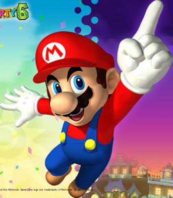 12 Super Mario PSD Images