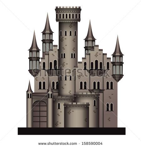 Medieval Castle Clip Art