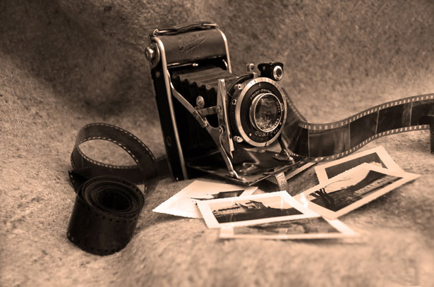 10 Stock Photography Vintage Camera Images