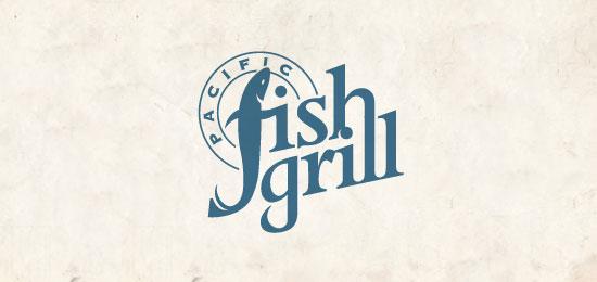 Pacific Fish Grill Logo