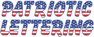 17 Patriotic Letter Fonts Images American Flag Font American Flag Alphabet Letters And 3