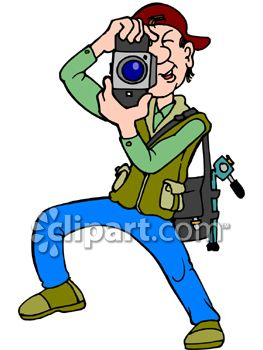 Photographer Taking Picture Clip Art Free