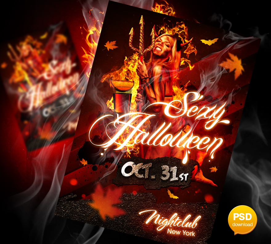 20 Adult Party Flyer PSD Images