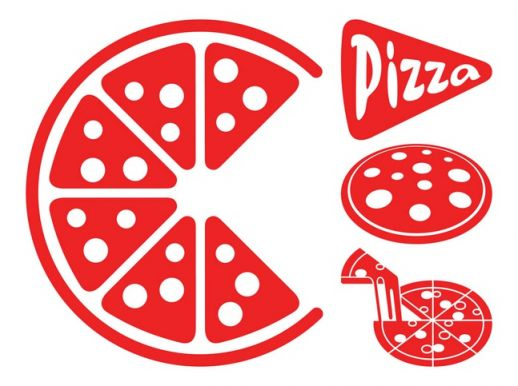 18 Pizza Vector Free Images
