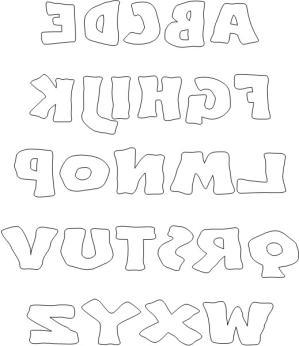 Printable Block Letters Alphabet