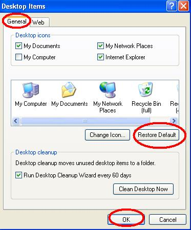 11 To Restore All Default Icons Images