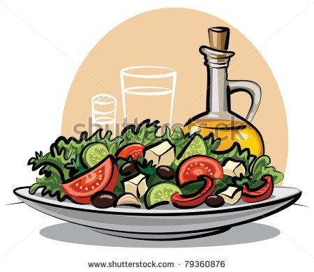 Salad Clip Art