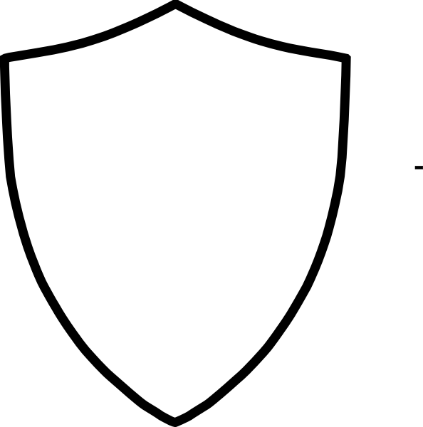 Shield Template Clip Art