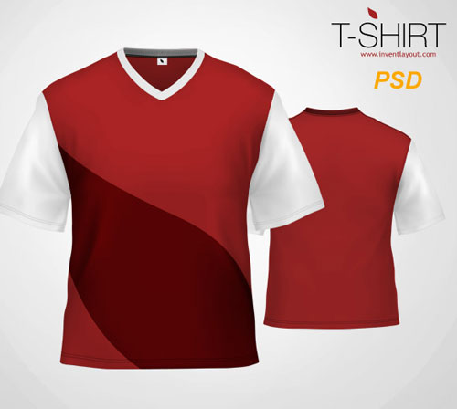 Shirt Template PSD