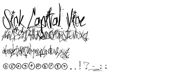 Sick Capital Vice Font
