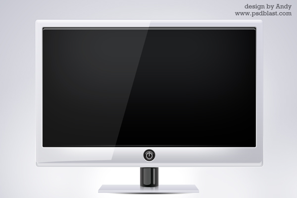 12 Computer Monitor PSD Images