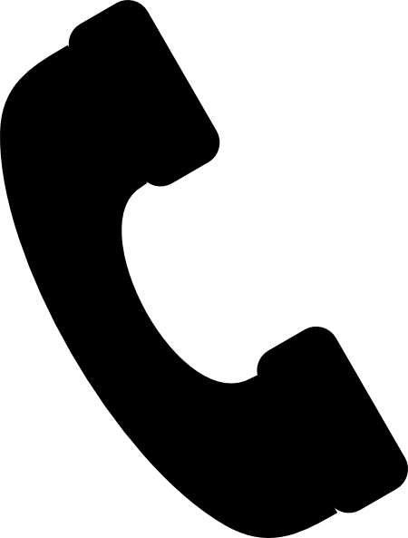 Small Phone Icon Clip Art