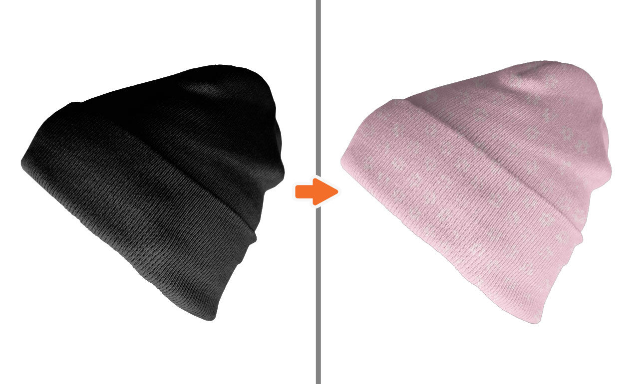 Snapback Hats Templates Photoshop