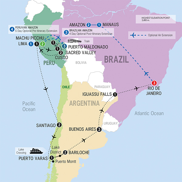 South America Tour 2014