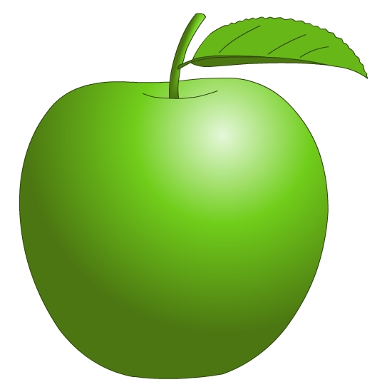 11 Free Vector Clip Art Of An Apple Images