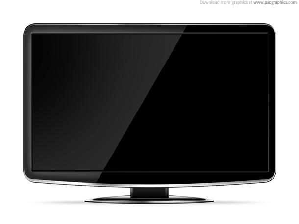 TV Screen Template