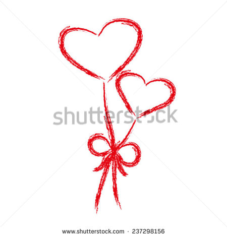 Valentine Picture of Two Hearts Together