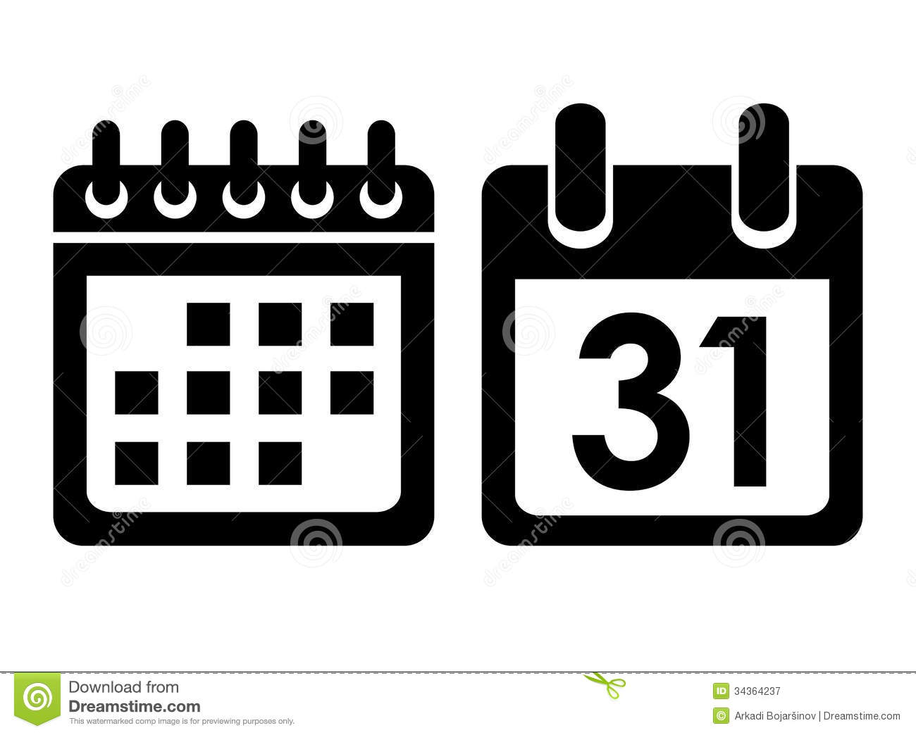 Calendar Day Vector Art : Calendar icon vector images