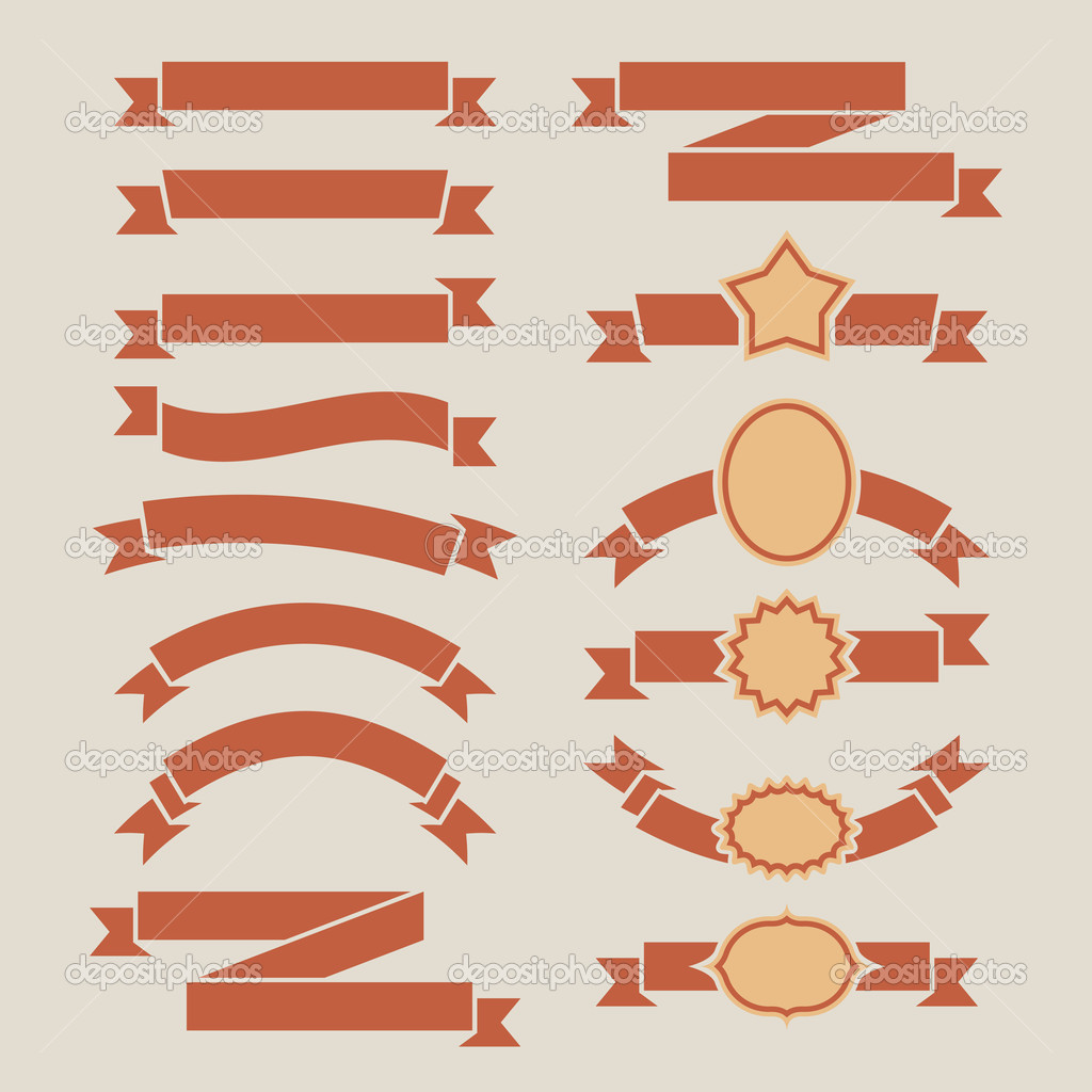 19 Retro Banners Vector Images - Free Vector Retro Ribbon ...