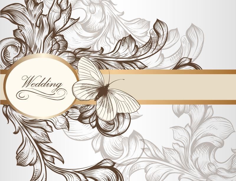 14 free wedding vectors images free flower vector graphics wedding vector free download stopboris Choice Image