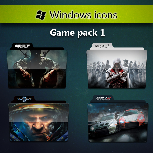 Windows 7 Games Folder Icon