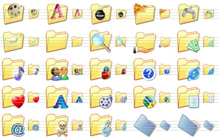 Windows File Folder Icons