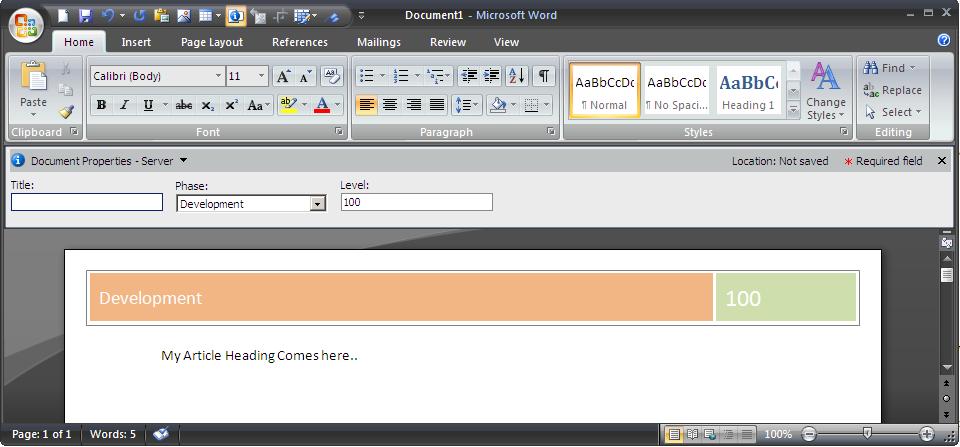 Word Document Header Templates Datariouruguay