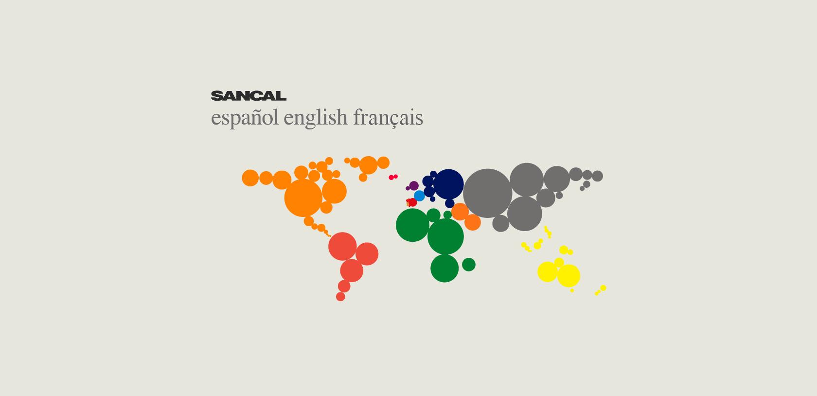 World Map Graphic Design