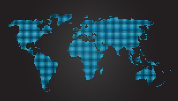 World Map Vector Graphic