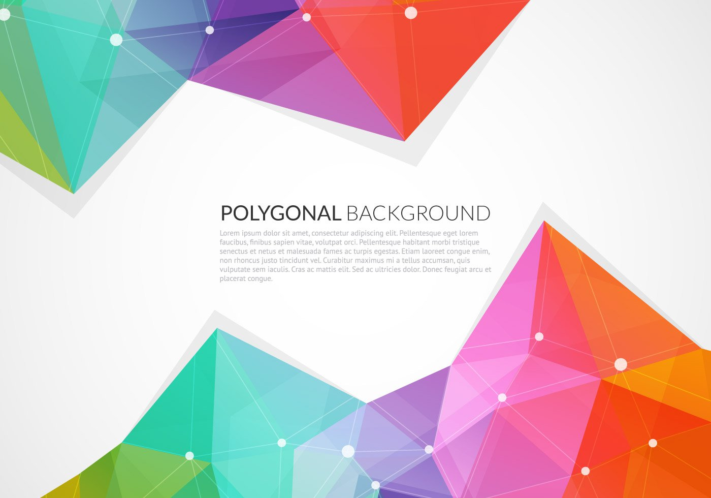 Abstract Triangle Vector Graphic