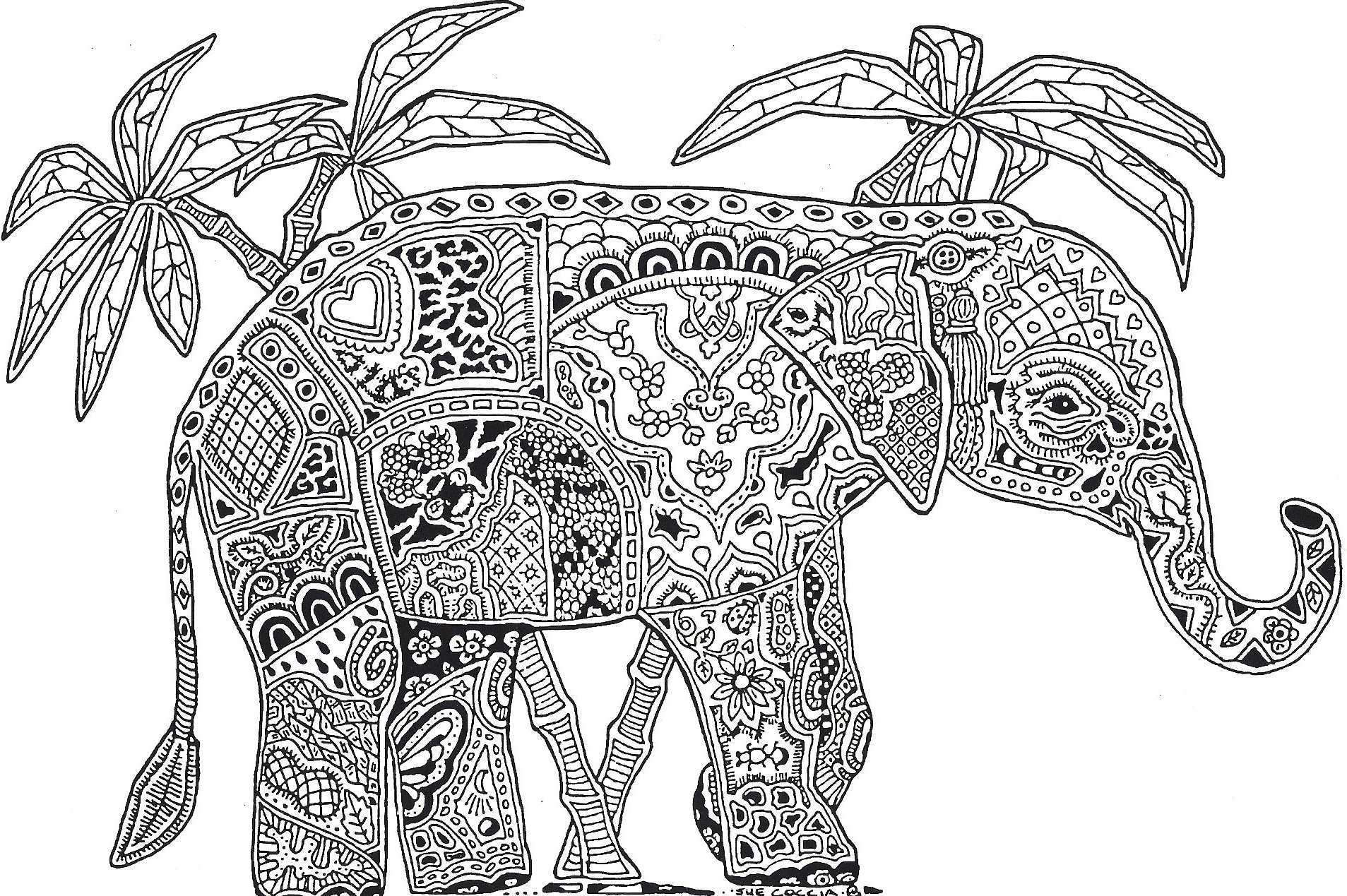 12 paisley design coloring pages animals images paisley pattern