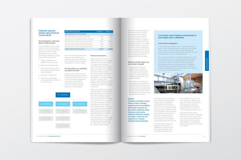17 annual report design templates images free annual report design