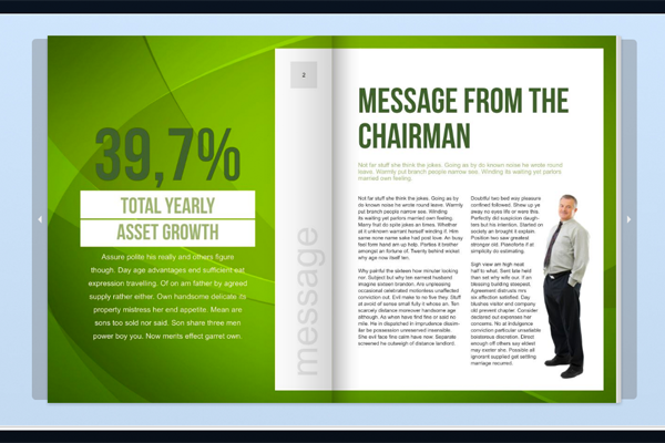 17 Annual Report Design Templates Images - Free Annual Report ...