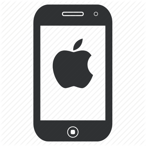 Apple Cell Phone Icons